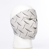 Metal Diamond Plate Ski Mask