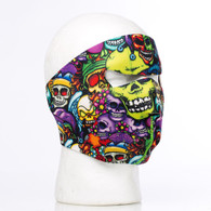 Color Skulls Ski Mask