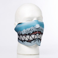 Shark Teeth Half Ski Mask