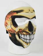 Skull Flame Inferno Ski Face Mask