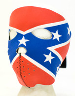 Rebel Flag Ski Face Mask