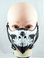 Guerilla Leather Half Face Mask