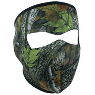 Forest Camo Neoprene Ski Mask