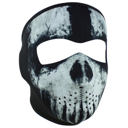 Skull Ghost Neoprene Ski Mask