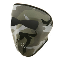 Urban Camouflage Ski Face Mask Front View