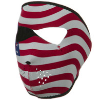 American Ski Face Masks - Front View