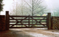 Estate Gate - 3.6m