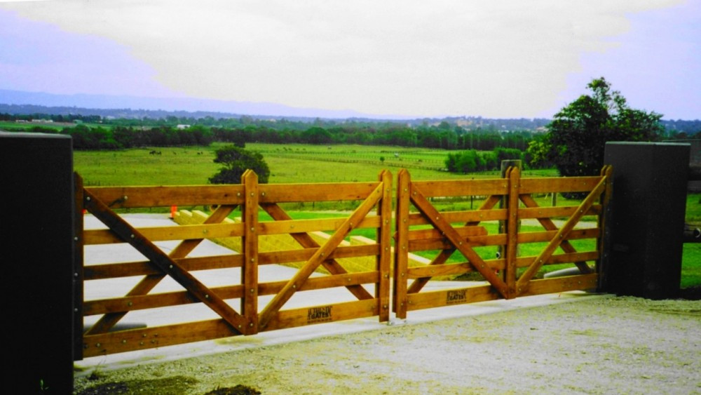 Double Estate Gate - 6.0m