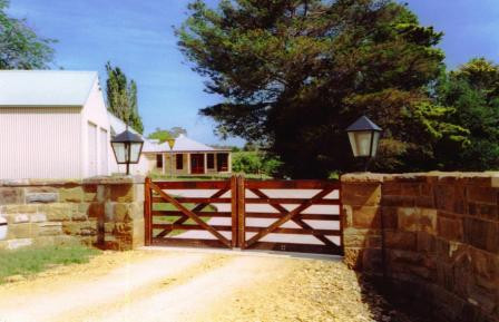 5-Rail Double Farm Gate - 3.6m