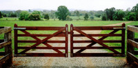 5-Rail Double Farm Gate - 4.2m