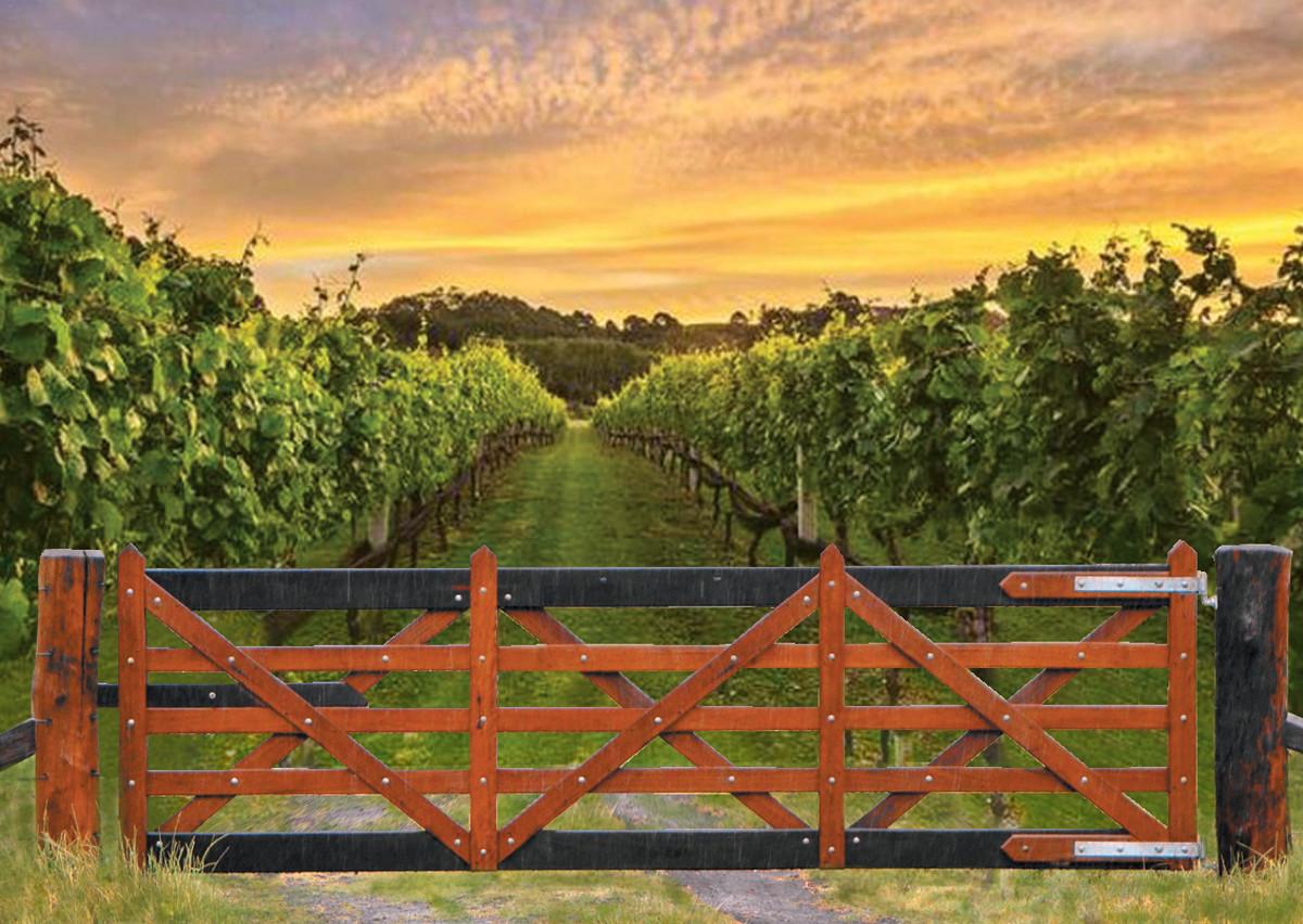 Single Vineyard Gate