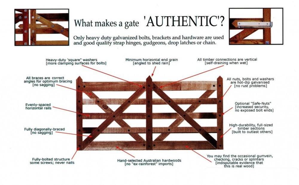 Authentic 5- Rail Construction