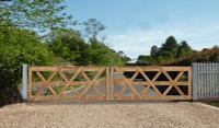 Double Bradfield Gates