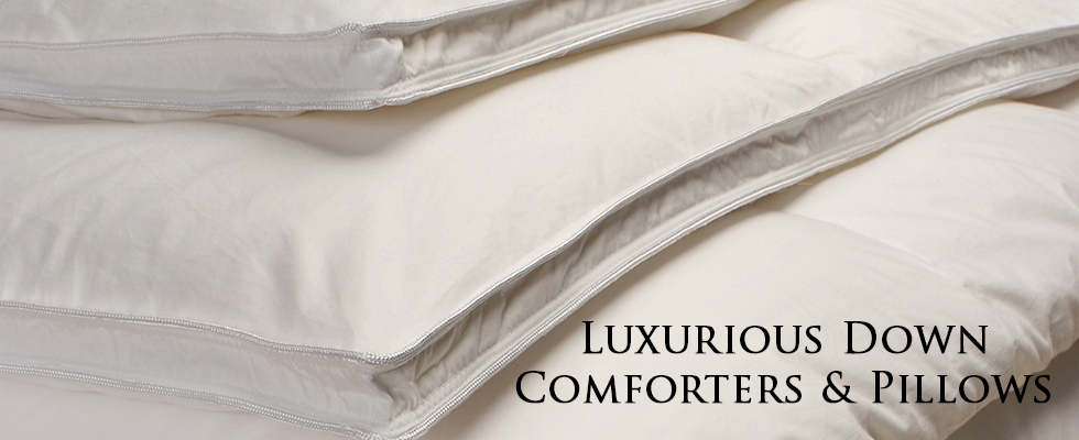 Luxury Goose Down Comforters, Best Luxury Goose Down Pillows, Baffle Box comforters, Down Pillows, Feather Pillows, Goose Down Pillows, Comfortable Pillows, Warm Down Comforters,