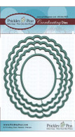 Scallop Oval - Nesting Die