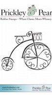Victorian Trike, Sm. - Red Rubber Stamp