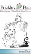 Petronella Pumpkin, Small - Red Rubber Stamp