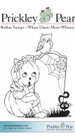 Petronella Pumpkin - Red Rubber Stamp