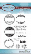 Circles Set - Sentiments - Clear Stamp Set