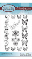Mini Butterflies - Clear Stamp Set