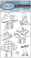 Gnome Homes - Clear Stamp Set