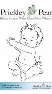 Baby - Red Rubber Stamp