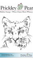 Cougar - Red Rubber Stamp
