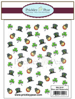 Hats and Clovers Background