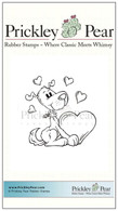 Puppy Love - Red Rubber Stamp