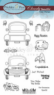 Truck Clear Stamp Set