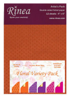 Floral Foiled Paper Variety - Artist's Pack