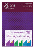 Peacock Foiled Paper Variety Pack - Artist's pack