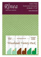 Woodlands Foiled Paper Variety Pack - Artist's pack