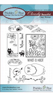 Build an Owl - Clear Stamp Set