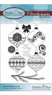 Ornaments - Clear Stamp Set