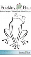Tree Frog - Red Rubber Stamp
