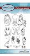 Build an Owl 2 - Clear Stamp Set