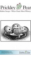 Poker Pumpkins - Red Rubber Stamp