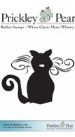 Whiskers - Red Rubber Stamp