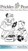 Play Me a Tune - Red Rubber Stamp