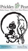 Pumpkin Jack - Red Rubber Stamp