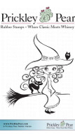 Sweet & Sassy Witch - Red Rubber Stamp