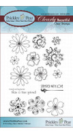 Flowers 2 - Clear Stamp Set
