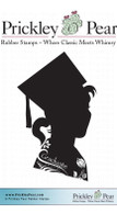Flourished Graduate 2 - Red Rubber Stamp