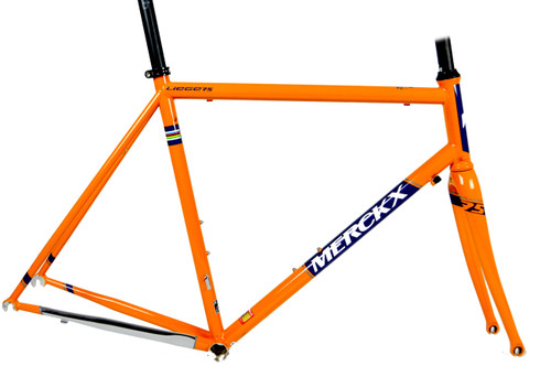 Eddy Merckx Liege 75 Steel Road Frame Glory Cycles