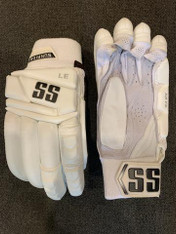 SS Limited Edition ALL White Batting Gloves.