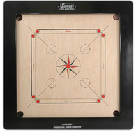 "Bulldog Carrom Board Size 37"" X 37"" 24MM English Ply"