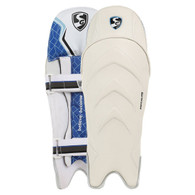 2021 SG Megalite Wicket Keeping Pads Black Color.