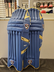 2021 SG IPL Blue Gold Batting Pads.