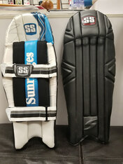 SS Black Color Wicket Keeping pads